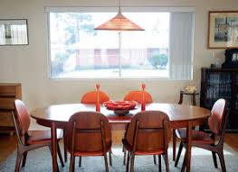 Danish Modern Dining Table And Chairs At The Las Vegas Home Of Bill Johnson