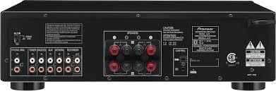 Pioneer Elite 100W 2 0 Ch Amplifier Black A20 Best Buy