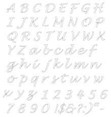 Free Printable Alphabet Stencils Lettering Stencils Free Printable