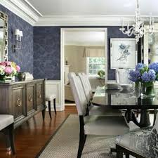 Inspiration For A Large Timeless Dark Wood Floor Enclosed Dining Room Remodel In New York With