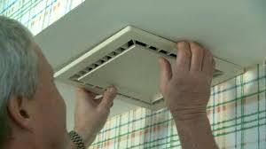 repair bathroom fan motor changing light bulb replace exhaust vent