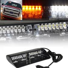White Yellow 16 LED Strobe Light High Intensity LED Emergency Hazard ... Rupse 4 Led Strobe Lights 1224v Super Bright High Power Car Truck G Extreme Vehicle Led Warning Light 3w Slave Surface 12v 24 Long Bar Red White Flash Lamp 4w Emergency Side Marker Grille W Builtin Controller Watt Mount Anderson Marine Division Peterson Manufacturing Company 2x22 Flasher Bars With 54 Hazard Police Grill 911 Signal Usa Unveils Its New Dodge Charger Demo 12 36w Work 6 6w Waterproof Emergencyc Flashing