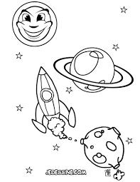 Livre De Coloriage Vaisseau Spatial Illustration De Vecteur Destiné