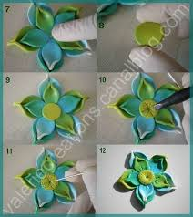tutoriel comment faire une fleur en fimo le de miss kawaii