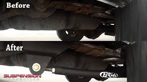 Dodge Ram Traction Bar - Before & After