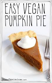 Best Pumpkin Pie With Molasses by Easy Vegan Pumpkin Pie