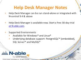 Solarwinds Help Desk Free by Help Desk And Ticketing Part Of Every Successful Msp Business
