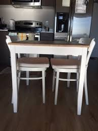 IKEA Lerhamm Dining Table And Chair Like New For Sale In Seattle