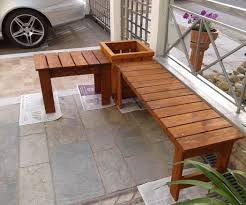 Bench And Planter 6 Steps
