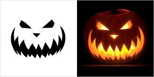Walking Dead Pumpkin Stencils Free Printable by 25 Cool