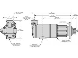 ingersoll rand air starter motor ss175 ss350 series vane air starters by ingersoll rand