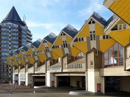 100 Cubic House Houses Rotterdam Netherlands Europe