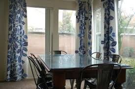 White Curtains With Navy Trim And For Living Room Valance