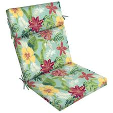 Arden Selections 21 In. X 44 In. Elea Tropical Outdoor Dining Chair Cushion