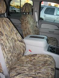 Camo Neoprene Seat Covers For Tahoe - Velcromag