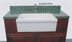 Whitehaus Farm Sink Drain by Whitehaus Whq530 Single Bowl Fireclay 30 U0027 U0027 Farmhouse Apron Kitchen