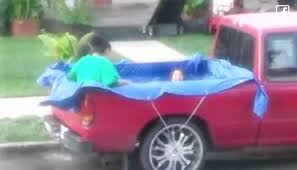 3 Days After A Stranger Saw Kids Swimming In A Truck Bed, He ... Fire Truck Kids Bed Build Youtube New York Truck Bed Storage Kids Lectic With Guitar Toys And Games Truck Bed Sheets Toddler Bedding Twin Set For Boy Kid Comforter Amazoncom Dream Factory Trucks Tractors Cars Boys 5piece Tent Kids Yamsixteen Mattress Alabama Teen Sets Monster Fire Products I Love In 2018 Bedroom Garbage Frame Green Beds Pinterest Little Tikes Red Car Can You Build A