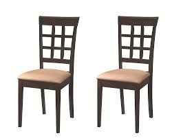 Amazon.com: Gabriel Wheat Back Side Chairs Cappuccino And Beige (Set ... Waiter Bar Counter Stool Upholstered Buy Massproductions Online Driade Lou Eat Ding Side Chair Drh867310 Stools Lowes Canada Height 2932 In Online At Overstock 27 March Design2014 Zio Ding Chair Chairs From Moooi Architonic Gillow In Scotland 17701830 David Jones And Jacqueline Urquhart 23 October Ch56 Ch58 Bar Stool Carl Hansen Sn Ronan Erwan Broullec Design