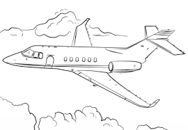 Click To See Printable Version Of Jet Airplane Coloring Page