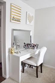 diy makeup desk ikea best vanity table ideas on pinterest white