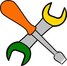 Coloured Tools Clip Art at Clker vector clip art online