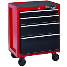 Roll Away Beds Sears by Craftsman 113613 4 Drawer Rolling Cabinet 26 In Sears