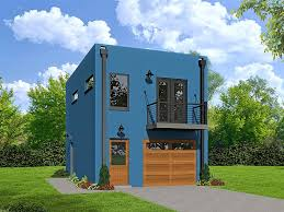 Houses With Garage Apartments Pictures by 062g 0083 Modern 1 Car Garage Apartment Plan Garage Apartment