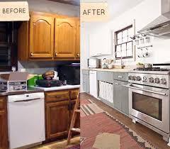 Before After Sarahs Kitchen Bedroom Renovation DesignSponge