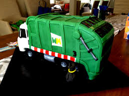 100 Garbage Truck Cakes Birthday Cake I Was Asked To Make A Flickr