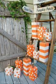 Pinterest Dryer Vent Pumpkins by Diary Of A Crafty Lady 4x4 Post Painted Pumpkins Crafts