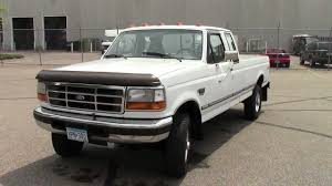 1996 Ford F250 HD 4x4 Ext Cab Long Box - YouTube