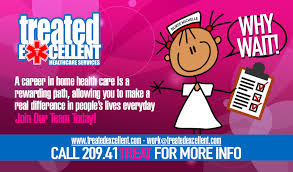 WORK AT TREATED EXCELLENT HEALTHCARE