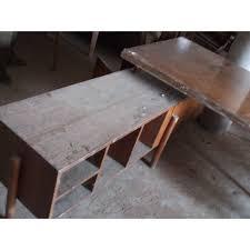 bureau teck massif le corbusier bureau de jeanneret