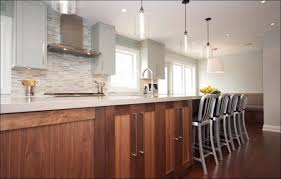 kitchen dazzling pendant lights above a white kitchen island with