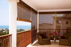 Outdoor Bamboo Blinds the world of fice Furniture