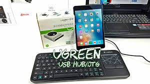 Ugreen USB Hub with OTG Useful and Affordable Gad