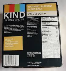 Caramel Almond Sea Salt Kind Bar