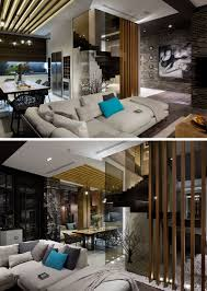 100 Inside Home Design Materials Like Dark Brick Wood And Glass Are Used In The Interior