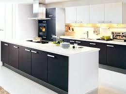 cuisine blanc et noir deco salon noir blanc argente daccoration salon gris blanc