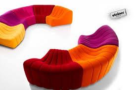 canapé steiner steiner chic design le canapé chromatique maxitendance