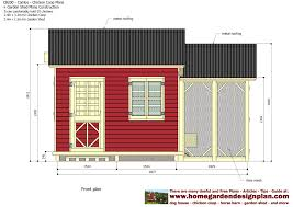 Slant Roof Shed Plans Free by Home Garden Plans Cb200 Combo Plans Chicken Coop Plans