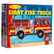 Melissa & Doug- Giant Fire Truck Floor Puzzle - Puzzles - Toys ... Melissa Doug Fire Truck Floor Puzzle Chunky 18pcs Disney Baby Mickey Mouse Friends Wooden 100 Pieces Target And Awesome Overland Park Ks Online Kids Consignment Sale Sound You Are My Everything Yame The Play Room Giant Engine Red Door J643 Ebay And Green Toys Peg Squirts Learning Co Truck Puzzles 1
