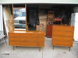 Mid Century Modern Dresser Makeover Prodigal Pieces