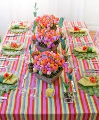Spring Indoor Flower Garden Table Decorations For Easter