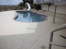 pool deck and patio resurfacing and repair cool deck stone