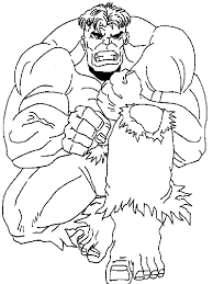 Hulk Coloring Pages 3