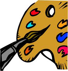 Free Vector Paint Palette Clip Art