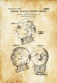 surgical mask patent decor doctor office decor nurse gift