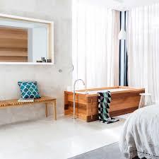 la maison bed bath beyond open bathroom concept
