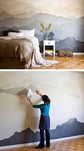 26 DIY Cool And No Money Decorating Ideas For Your Wall Statement WallWall Murals BedroomBedroom